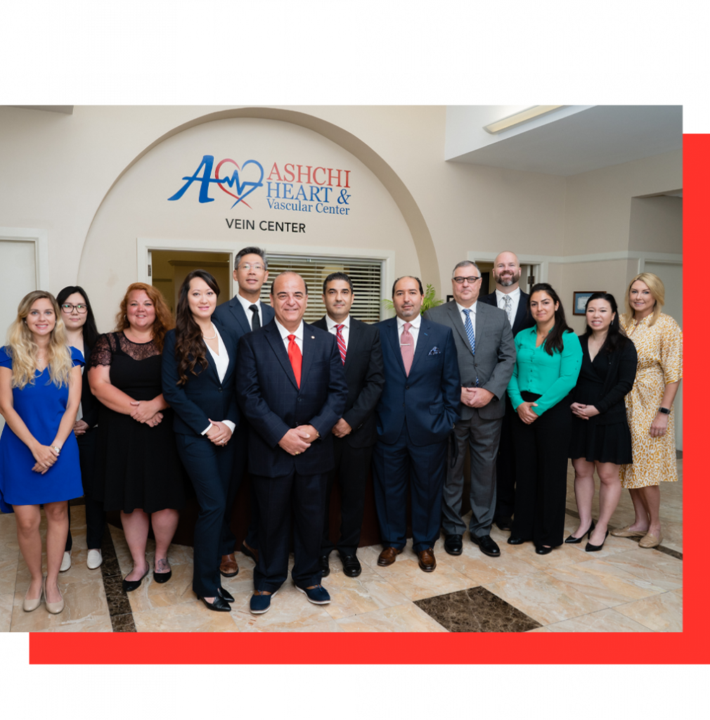 Ashchi Heart & Vascular Center Group Photo